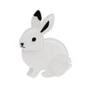Erstwilder Good Hare Day Brooch BH7090-8071