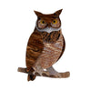 Erstwilder Gillian the Giving Owl Brooch BH7091-9291