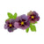Erstwilder Purple Prose Brooch BH7199-5040