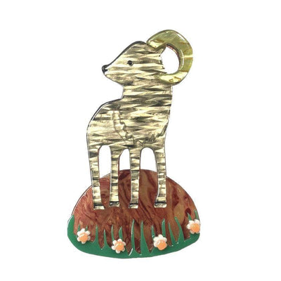 Pride of Big Horn Brooch