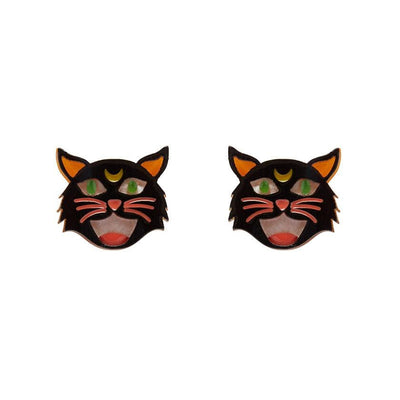 Hex Kitten Earrings