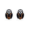 Owl Ornamental Earrings