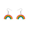 Keep Calm and Smile Earrings