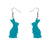 Erstwilder Essentials Bunny Bubble Resin Drop Earrings - Teal EE1007-BU4400