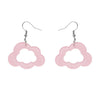 Erstwilder Essentials Cloud Bubble Resin Drop Earrings - Pink EE1008-BU2000