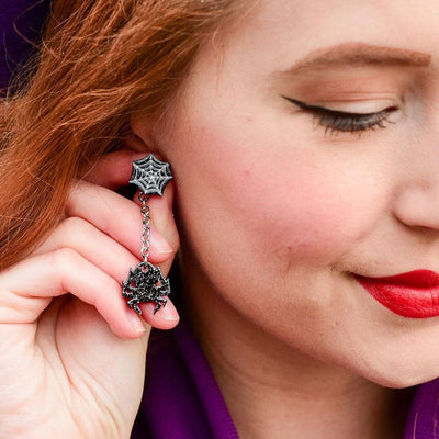 Erstwilder Arachnid Adornments Earrings E6981-7080