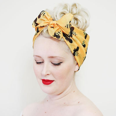Babette Bee Head Scarf