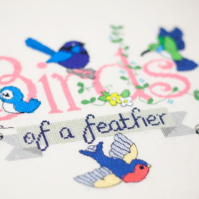 Erstwilder Birds of a Feather Embroidery Pattern EM0001-3120