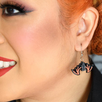 Bite Night Bat Earrings