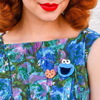 Erstwilder Cookie Monster Brooch BH6869-3000