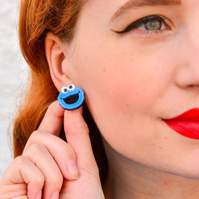 Cookie Monster Earrings