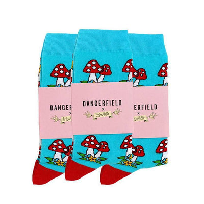 Forest Fun Guy Socks 3-Pack