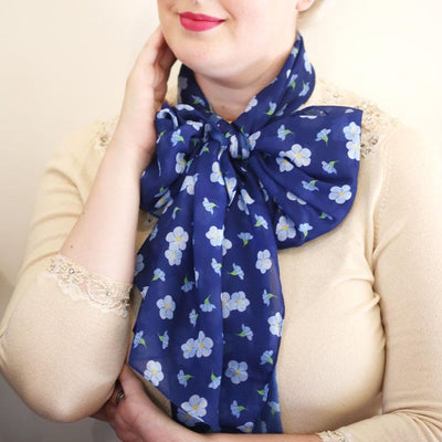 Don't You Forget About Me Large Neck Scarf
