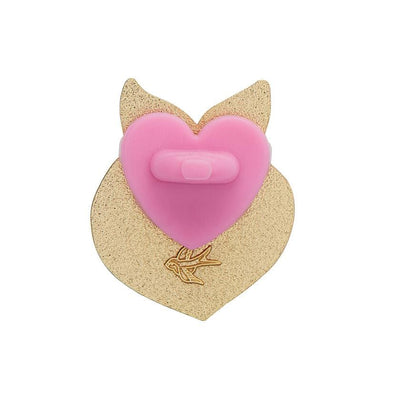 Erstwilder Enamel Pin Rubber Heart Backing 10-Pack PB0210-2000