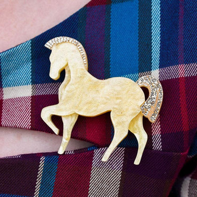 Erstwilder Friesian Fancy Brooch BH6892-6765