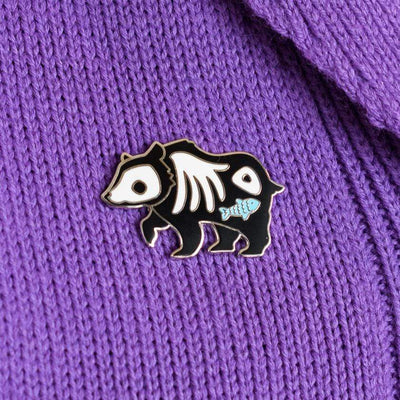 Erstwilder Grizzly Gruesome Enamel Pin EP0071-7080