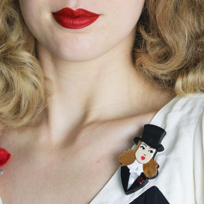 Lady Astaire Brooch