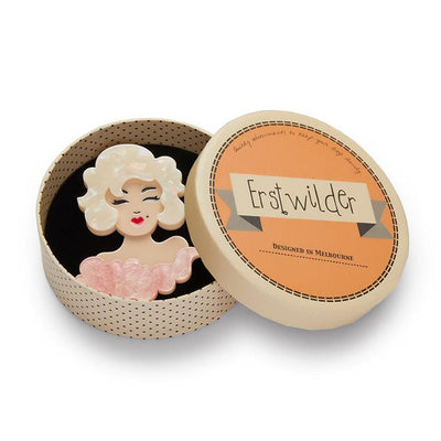 Holly Wood Brooch