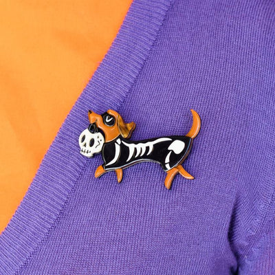 Erstwilder Trot or Treat Brooch BH7125-8090