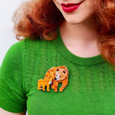 Mama Bear Brooch
