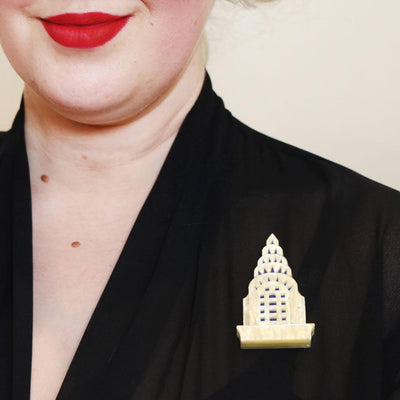 Manhattan Monument Brooch