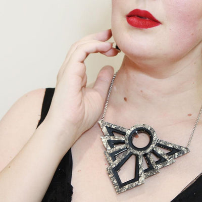 Modernist Motif Necklace