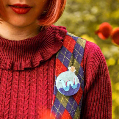 Tess of Loch Ness Brooch