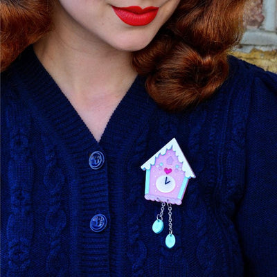 Erstwilder Past Midnight Brooch BH6622-2180