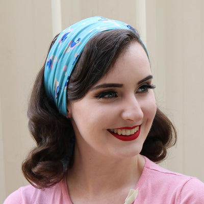 Erstwilder Phoebe the Fairy Wren Head Scarf SC0034-3430