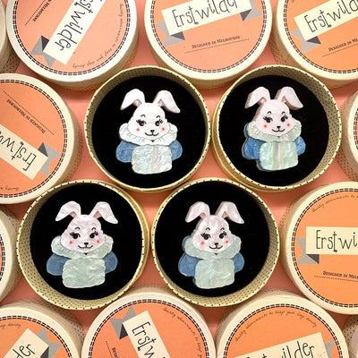Snuggly Buffy Bunny Brooch