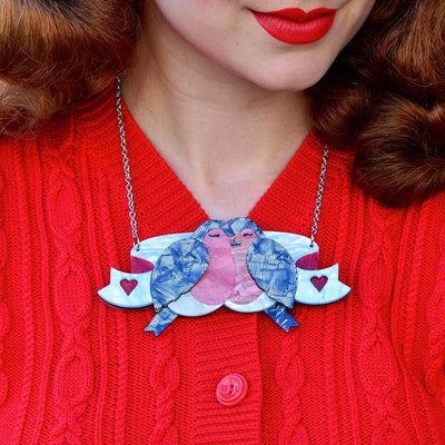 Erstwilder The Lovebirds Necklace N6938-7120