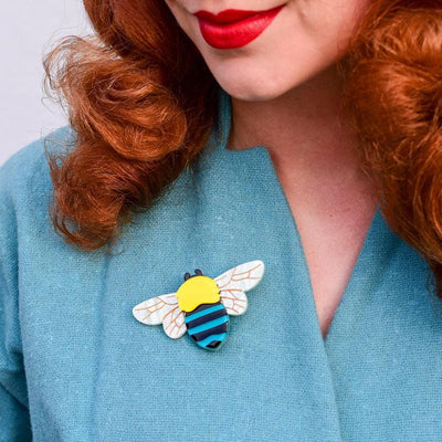 Erstwilder To Bee or Not to Bee Brooch BH6972-6030