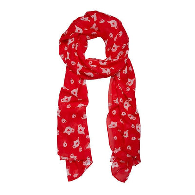 Rosy Lee Large Neck Scarf