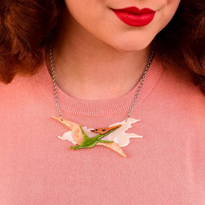 Erstwilder - Dinosauria_A Celine the Pterodactyl Necklace N7241-4092