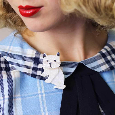 Winston the Westie Brooch