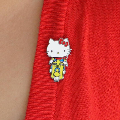 Erstwilder Hello Kitty Scooter Enamel Pin EP0102-6080