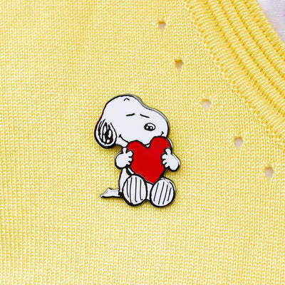 Erstwilder Snoopy's Big Heart Enamel Pin EP0078-8010