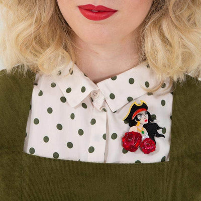 Charlotte of the Sea Pirate Brooch
