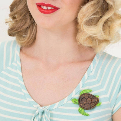 Michelle Sea Turtle Brooch