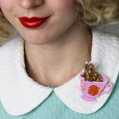 An-Tea-Chinus Mouse Brooch