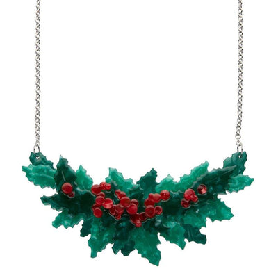 Erstwilder Holly Jolly Necklace N6937-4010