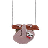 Erstwilder Cyril the Sloth Necklace N7137-8112