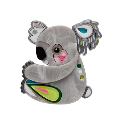 Erstwilder The Kuddly Koala Brooch BH7140-7100
