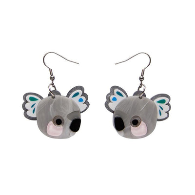Erstwilder The Kuddly Koala Earrings E7140-7100