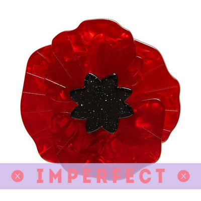Poppy Field Brooch (IMPERFECT)
