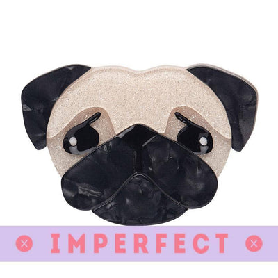 sale Pierre's Pug Life Brooch (IMPERFECT) IP-BH5453-6573