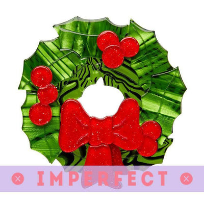 sale Deck the Halls Brooch (IMPERFECT) IP-BH5977-1040