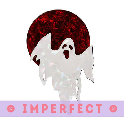 Ghostly Gary Brooch (IMPERFECT)