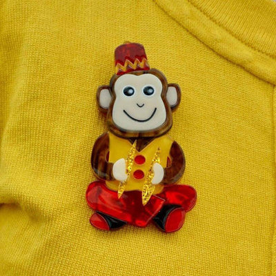 Charley Chimp Brooch