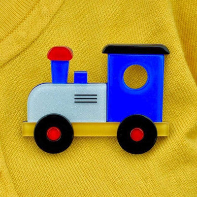 The Nostalgia Express Train Brooch